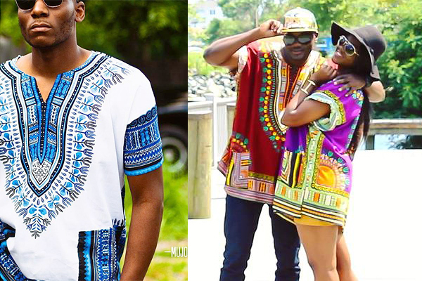 Dashiki Shirts Plus Size